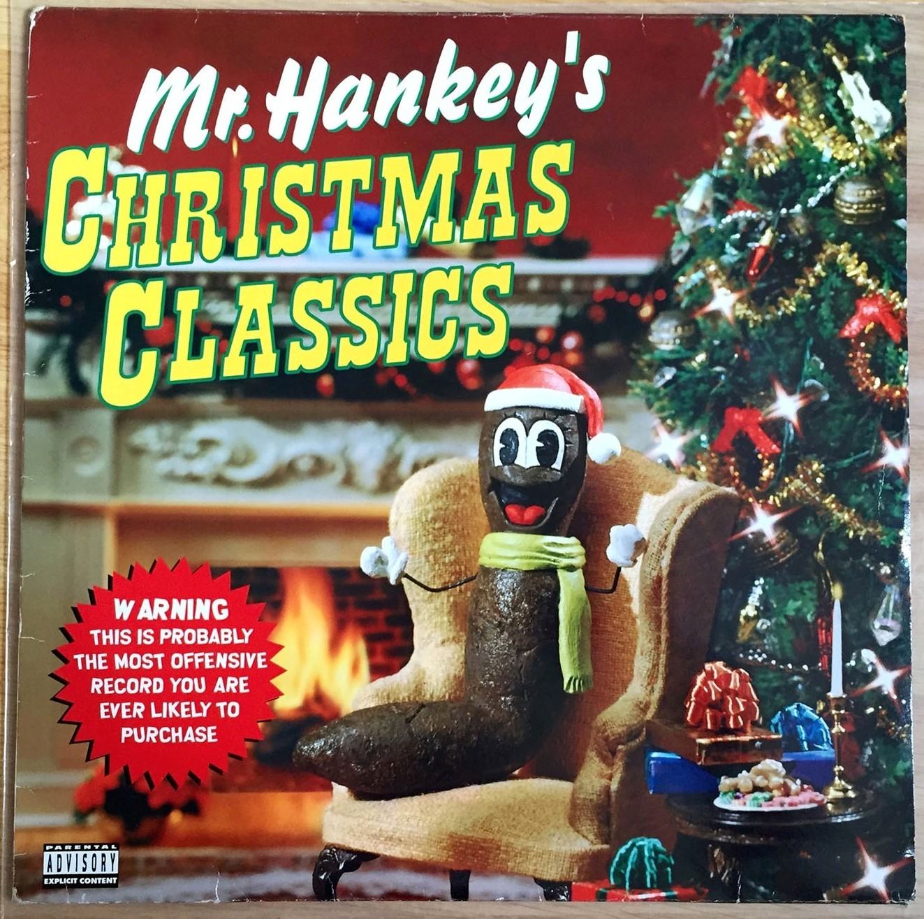 mr-hankeys-christmas-classics-brown-vinyl-002 | Stitches and Grooves